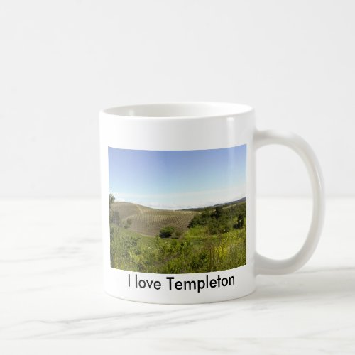 Mug-Templeton CA Wine Country Coffee Mug