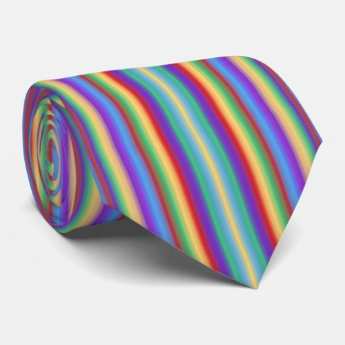 Multi Color Stripes Neck Tie