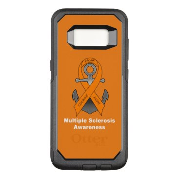 Multiple Sclerosis Anchor of Hope OtterBox Commuter Samsung Galaxy S8 Case