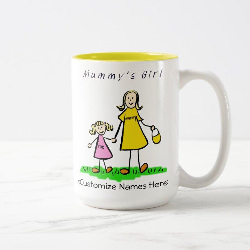 Mummy's Girl - Blonde Mother & Daughter Mug