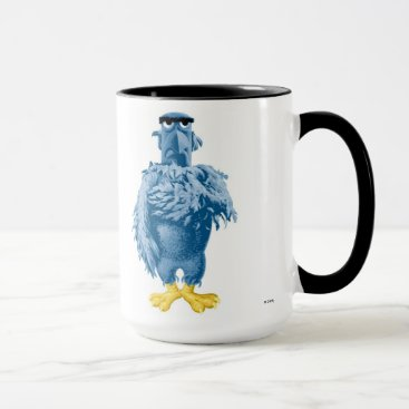 Muppets Sam the Eagle standing pledging Disney Mug
