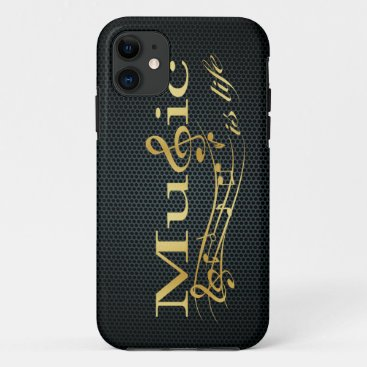 Music is Life iPhone 11 Case