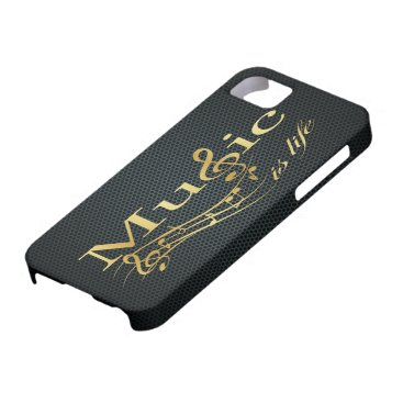 Music is Life iPhone SE/5/5s Case