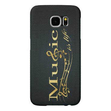 Music is Life Samsung Galaxy S6 Case