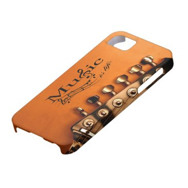 Music is Life with Guitar Machine Head iPhone SE/5/5s Case