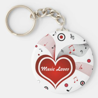 Music Lover - Keychain
