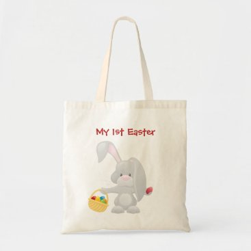 My 1st easter Tote Bags