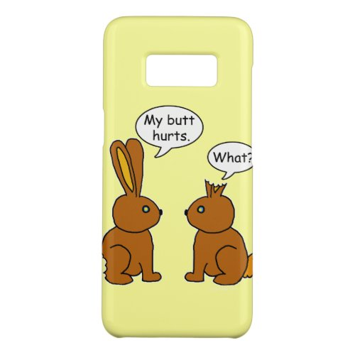 My Butt Hurts! - What? Case-Mate Samsung Galaxy S8 Case