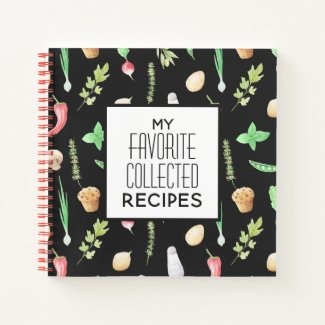 My Favorite Collected Recipes Journal