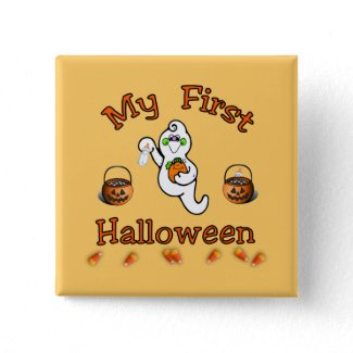 My First Halloween button