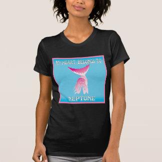 My Heart Belongs To Neptune Tee Shirt