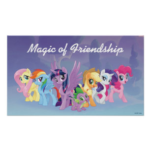 my little pony posters prints zazzle