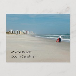 Myrtle Beach, South Carolina postcard