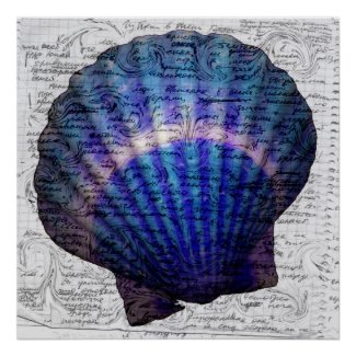 Mysterious Sea Poster Print print