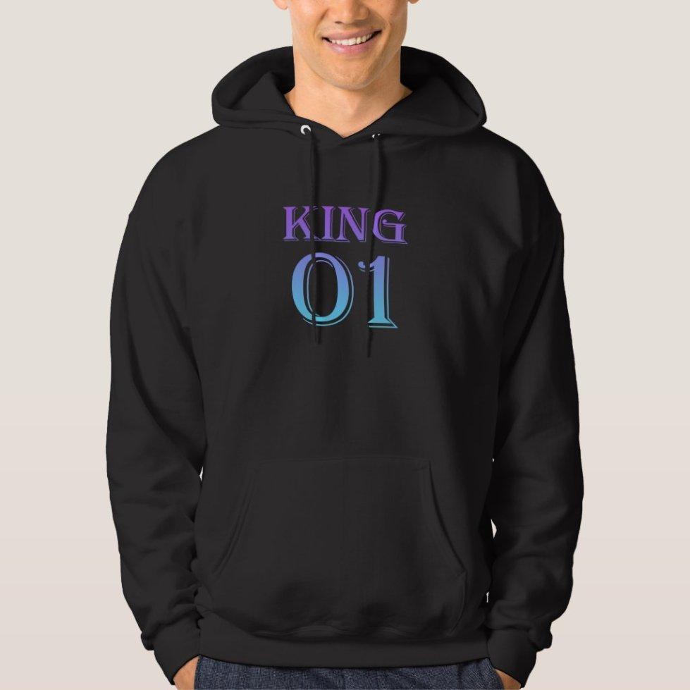 Mystic Mauve King 01 Hoodie