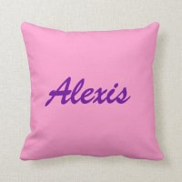 Name Pillow ! Make your Own!