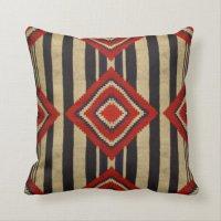 Native American - Navajo Throw Pillow | Zazzle