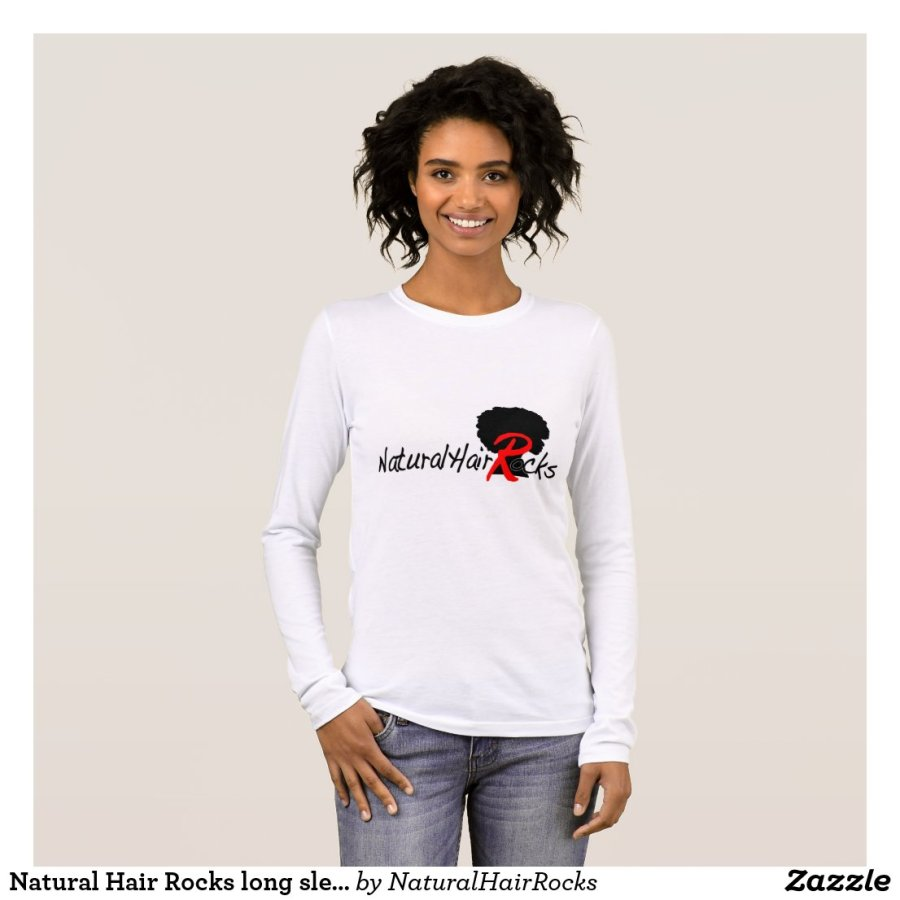 Natural Hair Rocks long sleeve shirt