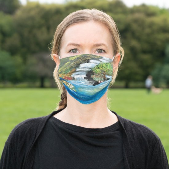 Nature's Waterfall Cloth Face Mask