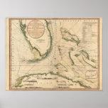 Nautical Chart of the Gulf of Florida