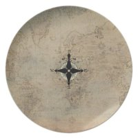 Nautical Dinnerware Melamine Plate | Zazzle