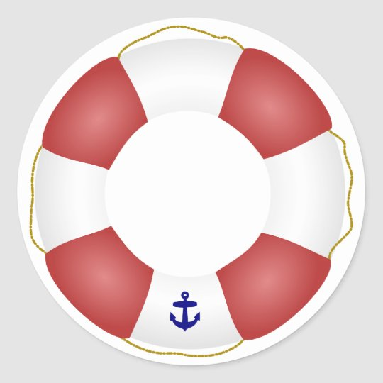 nautical life preserver classic