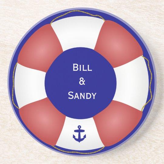 nautical life preserver with