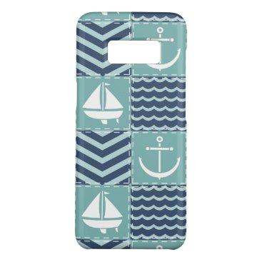 Nautical Quilt Case-Mate Phone Case