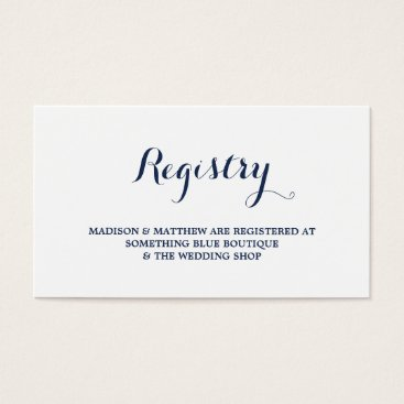 Nautical | Registry Card