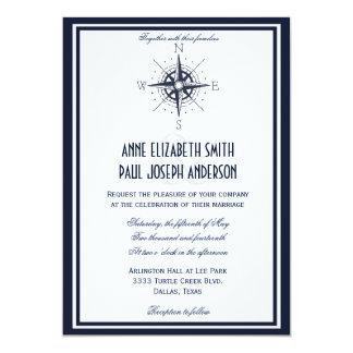 Laser Cut Wedding Invitation Nautical Invite Anchor