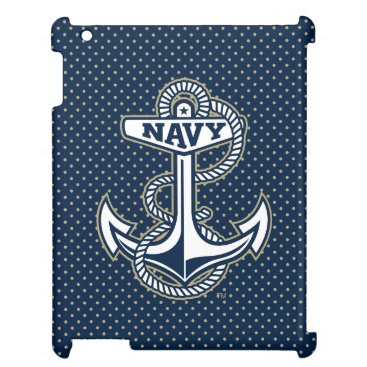 Naval Academy Polka Dot Pattern Case For The iPad