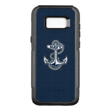 Naval Academy Polka Dot Pattern OtterBox Commuter Samsung Galaxy S8  Case