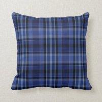 Black Flannel Pillows - Decorative & Throw Pillows | Zazzle