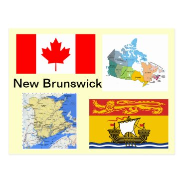 New Brunswick Canada Postcard