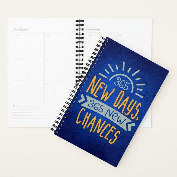 New Days New Chances Planner