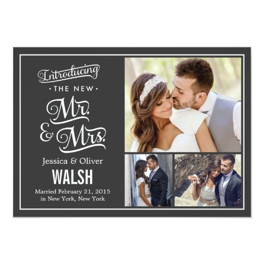 Wedding Party Invitations After Getting Married