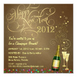 New Year's Day Party - Champagne Brunch Invitation