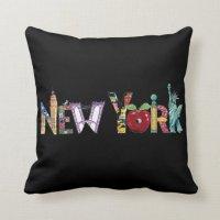 New York City Pillow | Zazzle.com