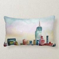 New York City Skyline Pillows