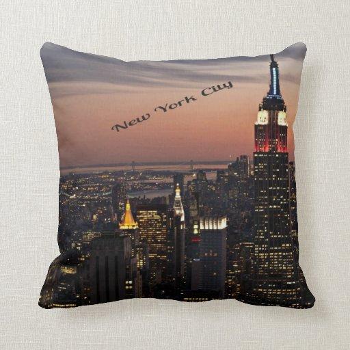 New York City Throw Pillow  Zazzle