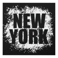 New York Urban Graffiti Panel Wall Art | Zazzle