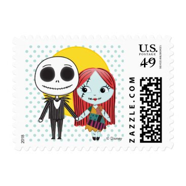 Nightmare Before Christmas | Jack & Sally Emoji Postage