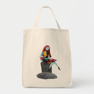 Nightmare Before Christmas | Sally & Cat Sitting Tote Bag