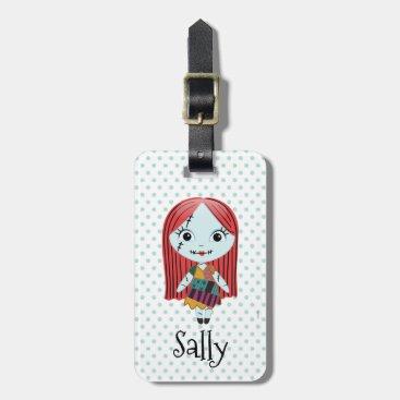 Nightmare Before Christmas   Sally Emoji Bag Tag