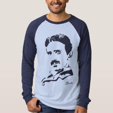 Nikola Tesla Rules! Navy T-Shirt