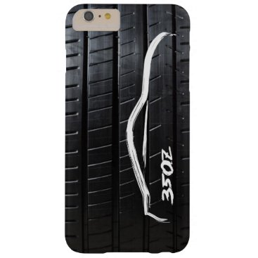 Nissan 350Z brushstroke with Tire Tread Barely There iPhone 6 Plus Case