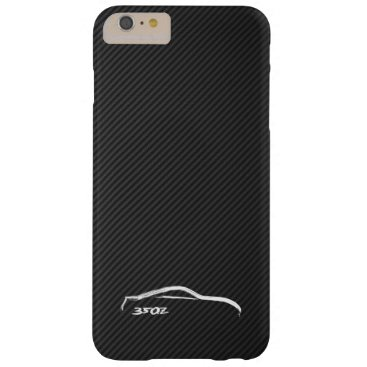 Nissan 350Z White Silhouette Logo Barely There iPhone 6 Plus Case