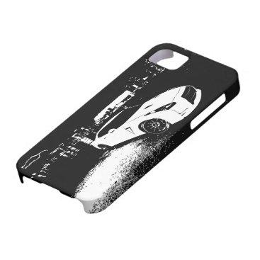 Nissan Skyline GTR with City Lights Backdrop iPhone SE/5/5s Case