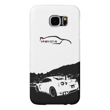 Nissan Skyline Rear GR-R Samsung Galaxy S6 Case