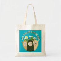 No Prob-Llamas Tote Bag